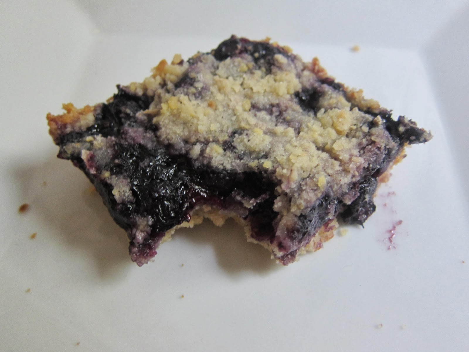 Blueberry Crumb Bars | The Economical Eater