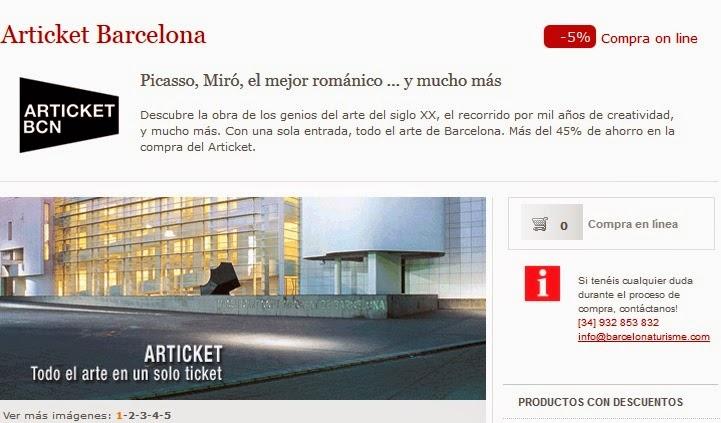 Museos de Barcelona con descuentos