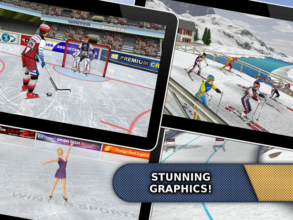 Athletics: Winter Sports v1.5 Apk Full