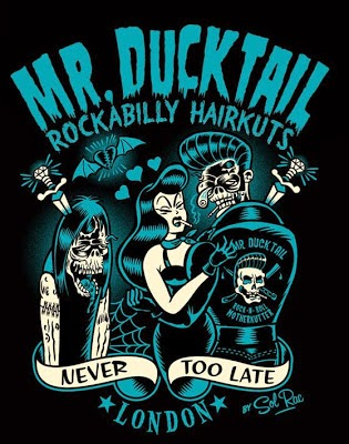 Mr. DUCKTAIL • Never Too Late • London England.