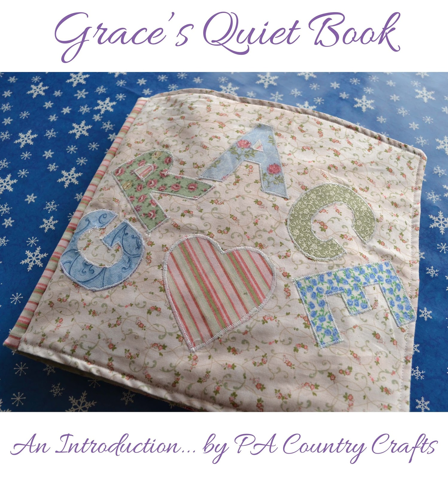 Grace's Quiet Book Introduction