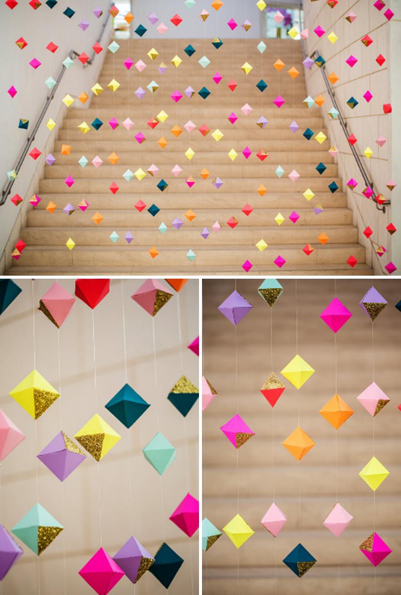 Renee meow 39 s wedding journey 2014 wedding trends for Paper art decoration