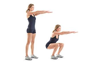 ejercicios para la celulitis con sentadillas