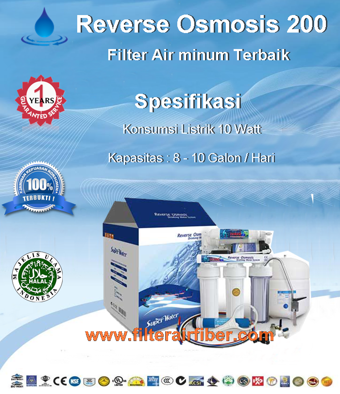 Filter Air Minum RO Rumah Terbaik