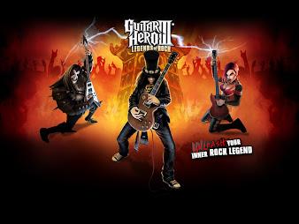 #3 Guitar Hero Wallpaper