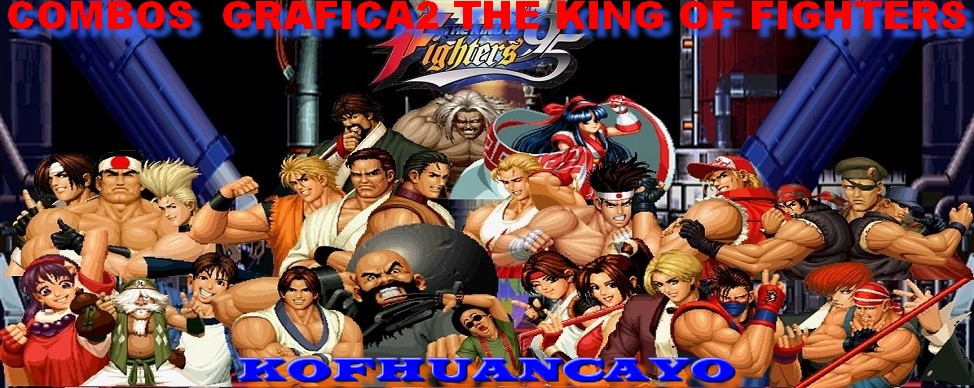 KOF '95 Combos Grafica2