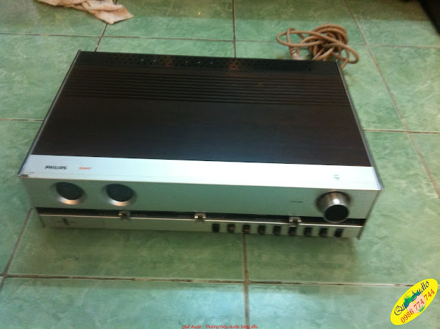 Amply Philips 520 - Made in Neitherland (Hà Lan).