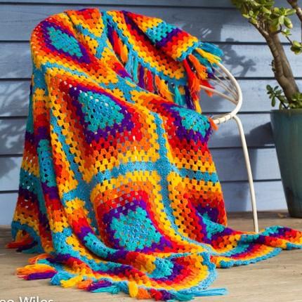 Granny Blankets - Free Pattern