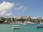 Vista de la ciudad desde el Forte. Otro barrio indispensable es Río Vermelho .