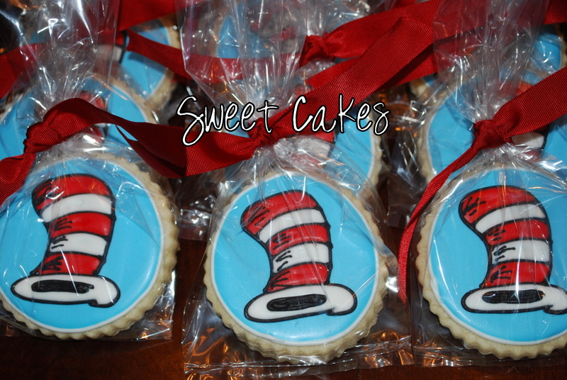This past week at school we did a author study on Dr. Seuss. At the