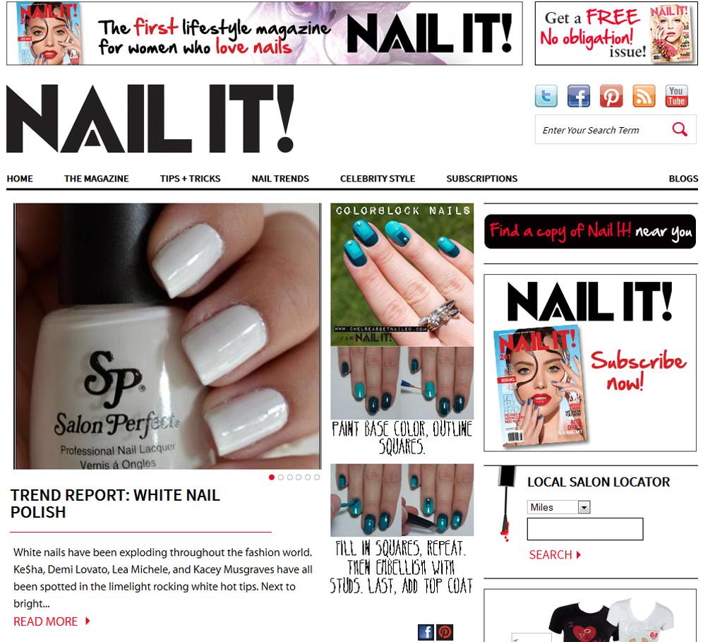 White Nail Polish Trend: PolishGalore On Nail It!: Trend Report