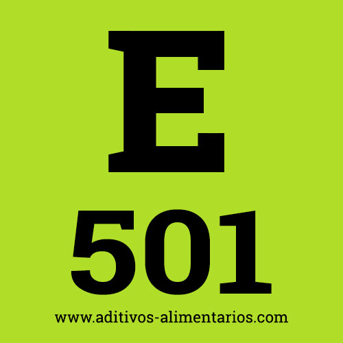 E501 - Carbonatos de Potasio