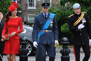 Duchess Catherine, Prince William & Prince Harry