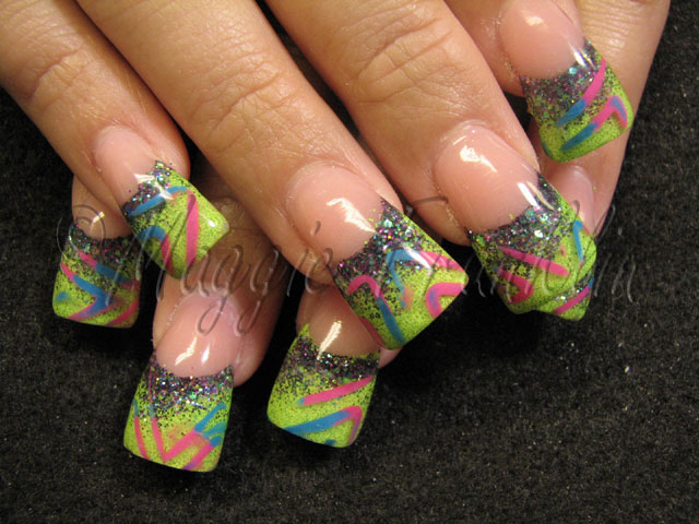 Rockstar - Nails Style Photo Gallery | nailsstyle.com - artnail.