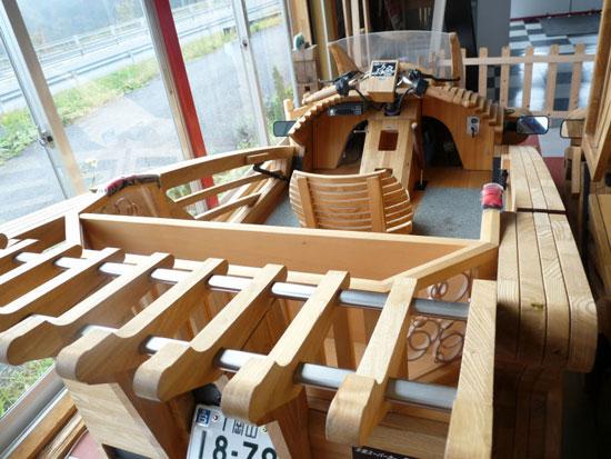 mobile kayu