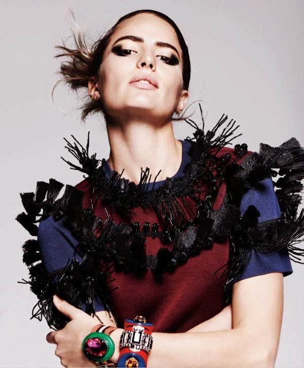 Cameron Russell HQ Pictures Harper's Bazaar US Magazine Photoshoot March 2014