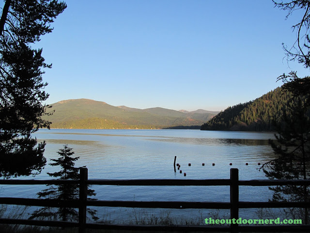Outlet Campgrounds At Priest Lake, Idaho: Late Afternoon View Of Priest Lake