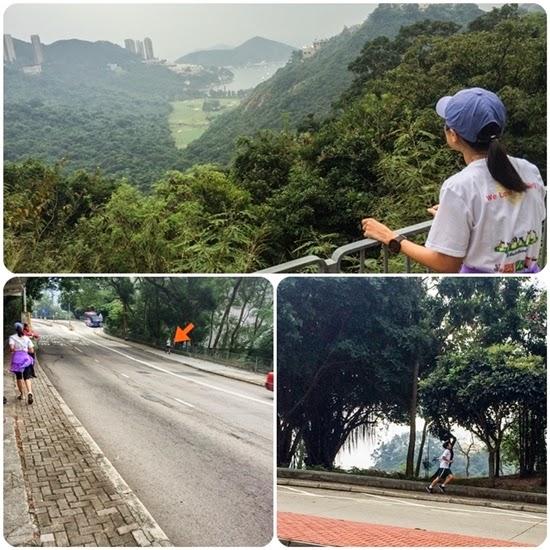 วิวทะเลเมื่อมองลงมาจาก Num Fung Road