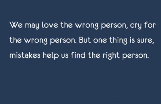 wrong love quotes like success