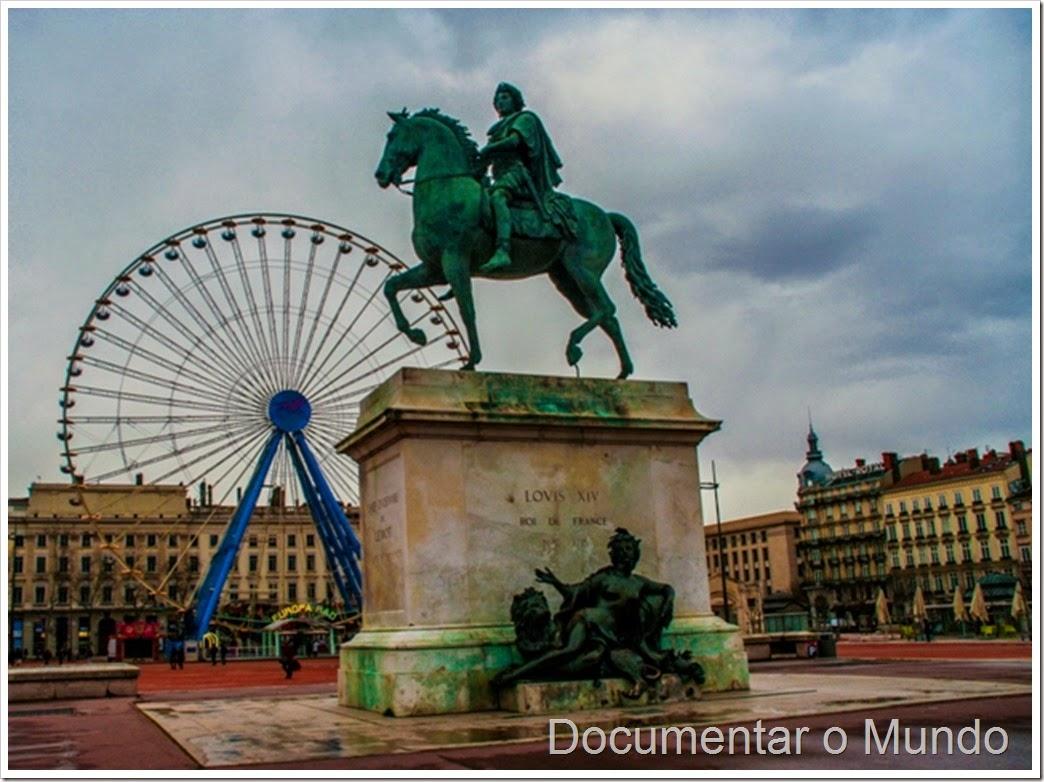 Praça Bellecour; Lyon