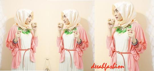 Jilbab Warna Soft Trend Jilbab 2014