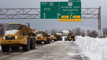 Progress Made in Clearing Roads in WNY