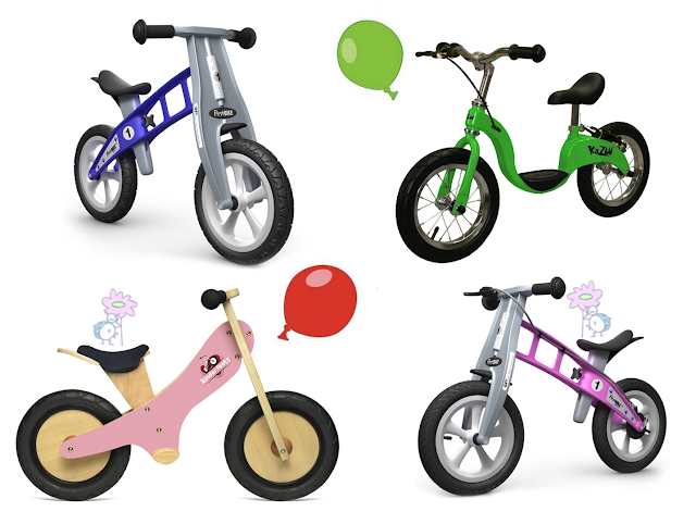 Balance bikes para niños