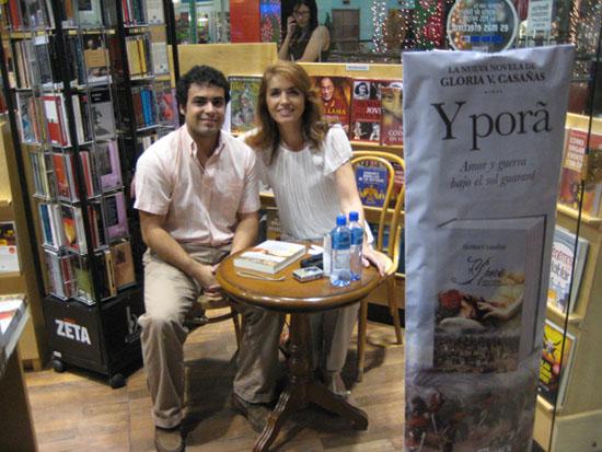 Carlos Guasti y Gloria Casañas en Quijote Mariscal Lopez