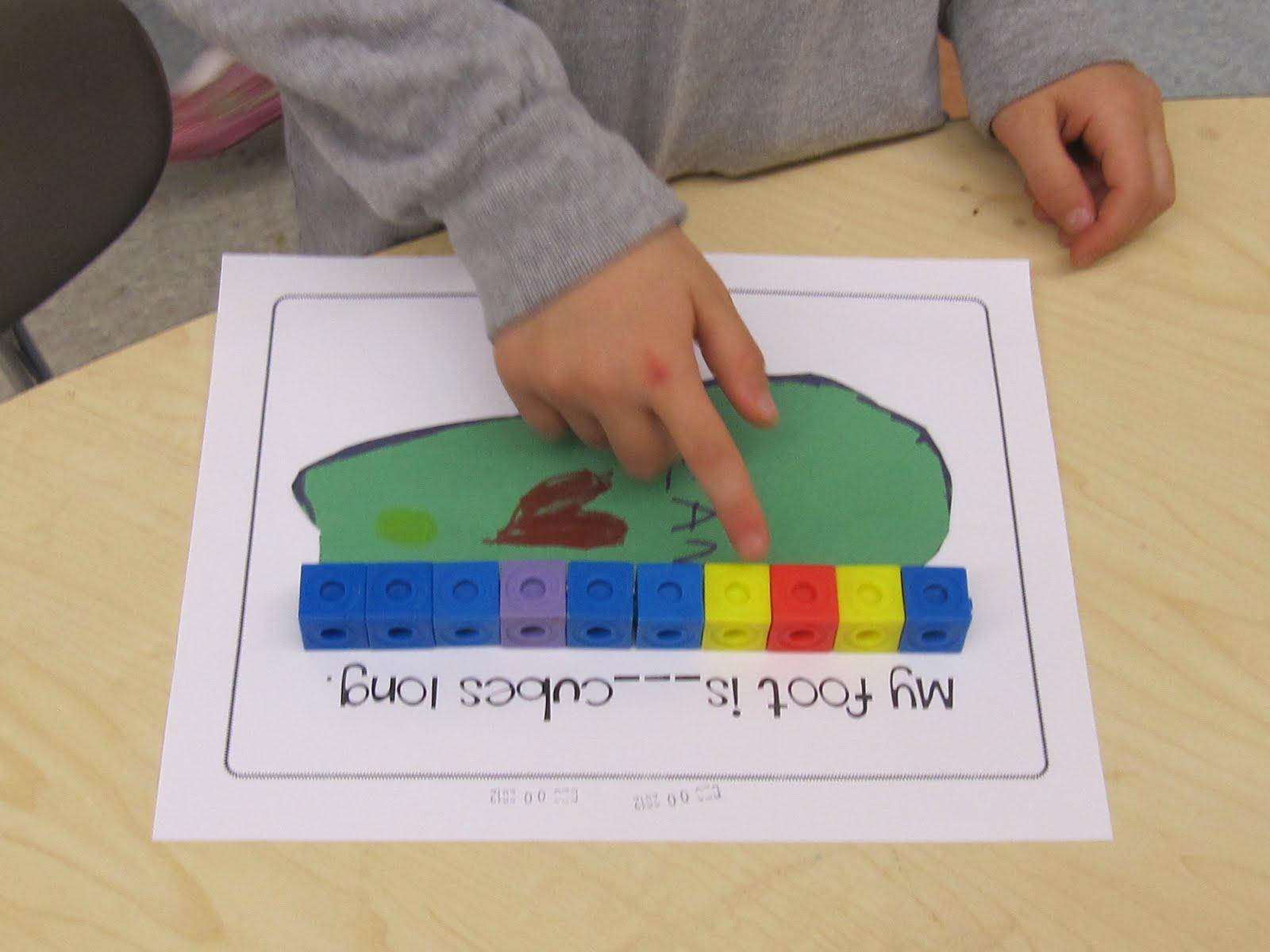 Joyful learning in kc measurement in kindergarten for 3 foot cardboard letters