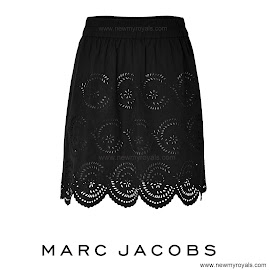Style of Princess Mary: MARC JACOBS Skirt and FREE PEOPLE Dress