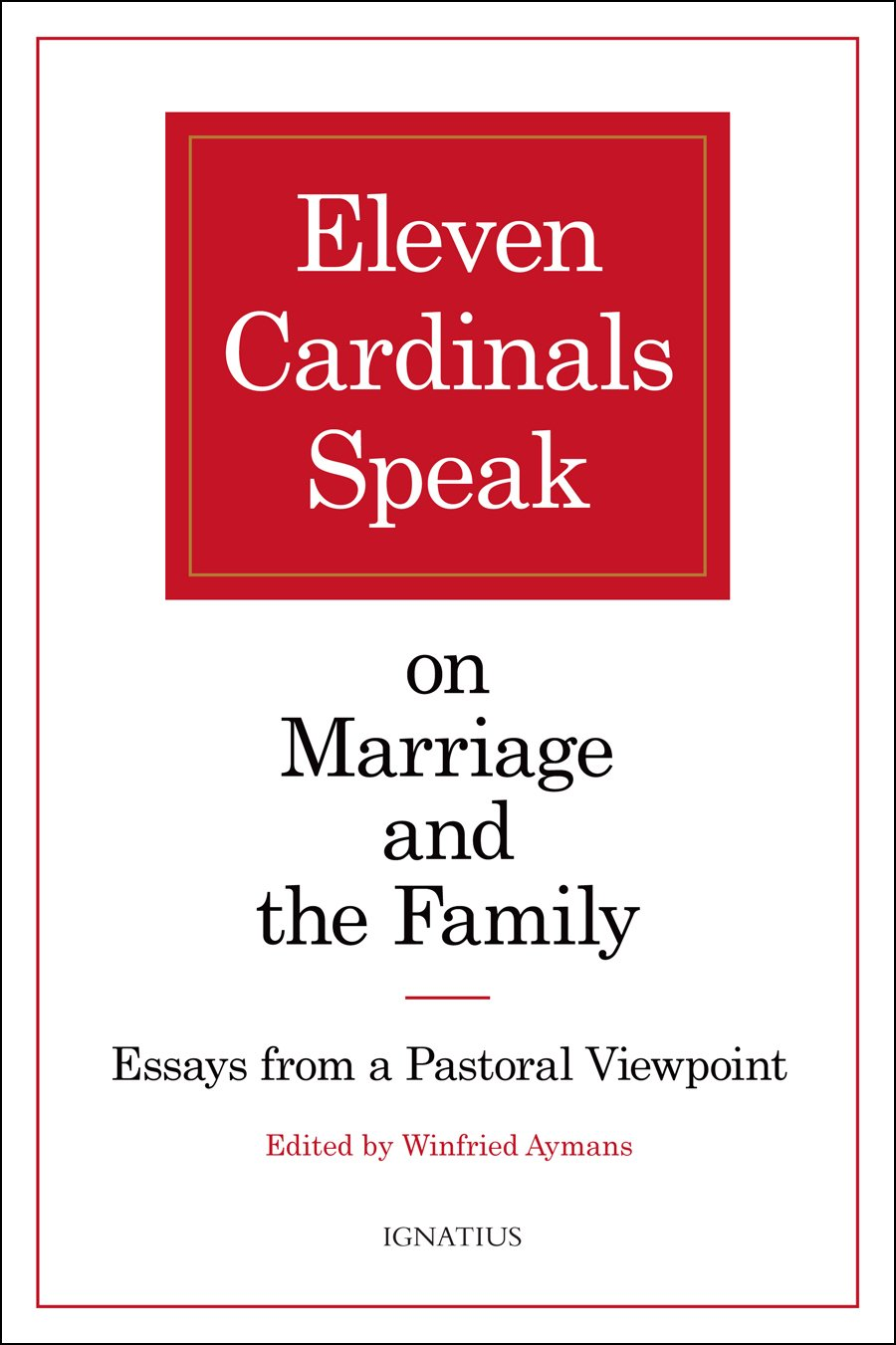 rorate c aelig li exclusive book review pre synod book eleven exclusive book review pre synod book eleven cardinals speak on marriage and the family