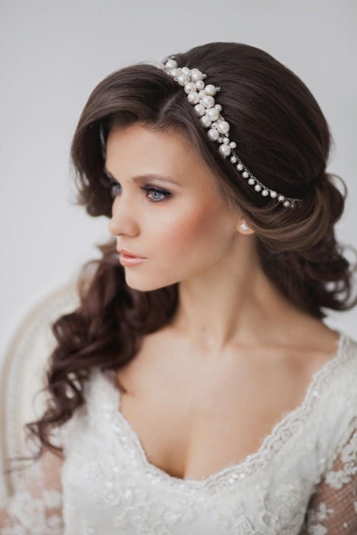 Maquillaje y peinado para novias 2015