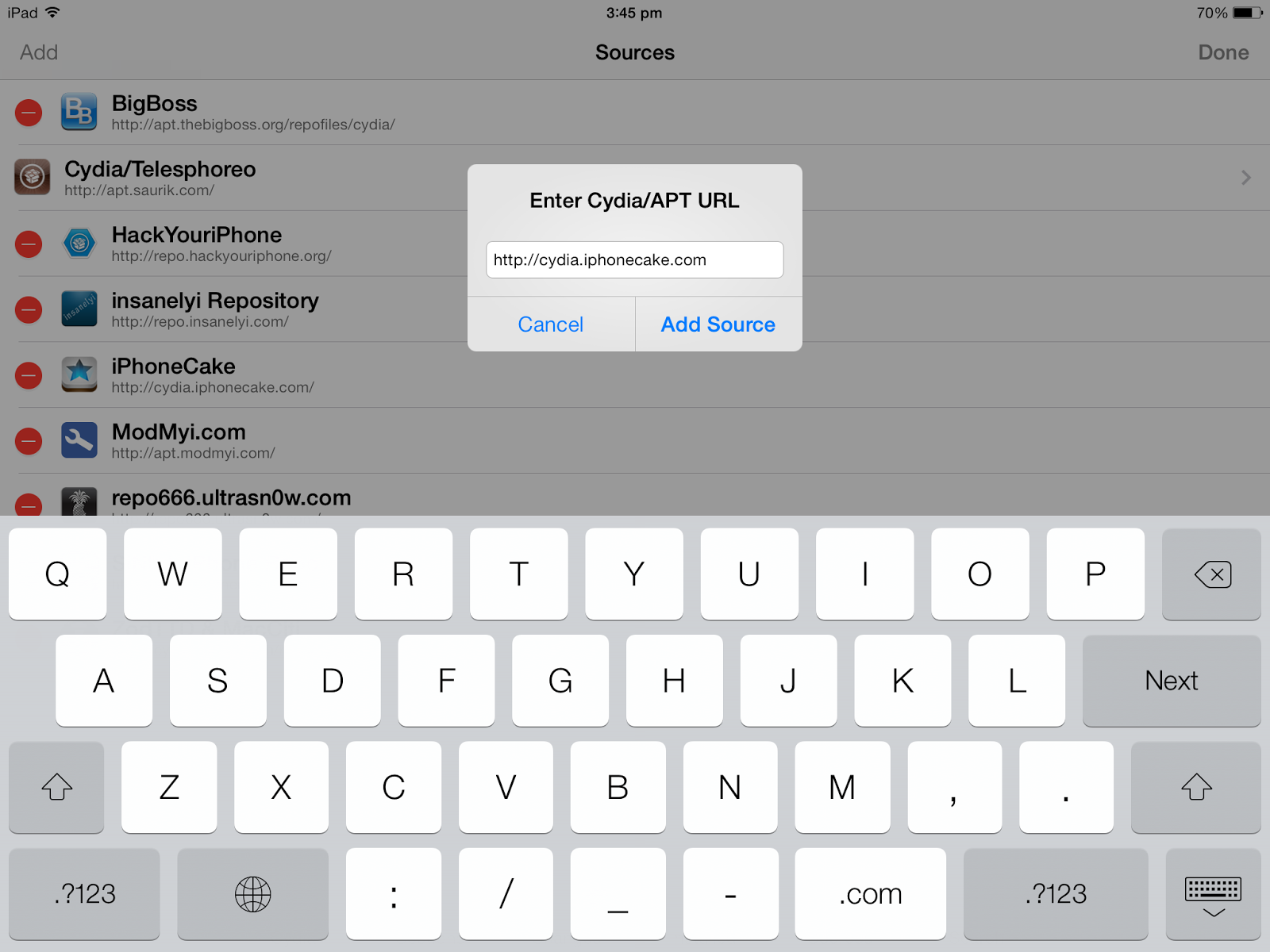 How to install AppSync 7.0+ on iOS 7