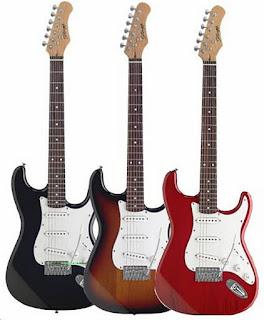 foto de guitarras electricas