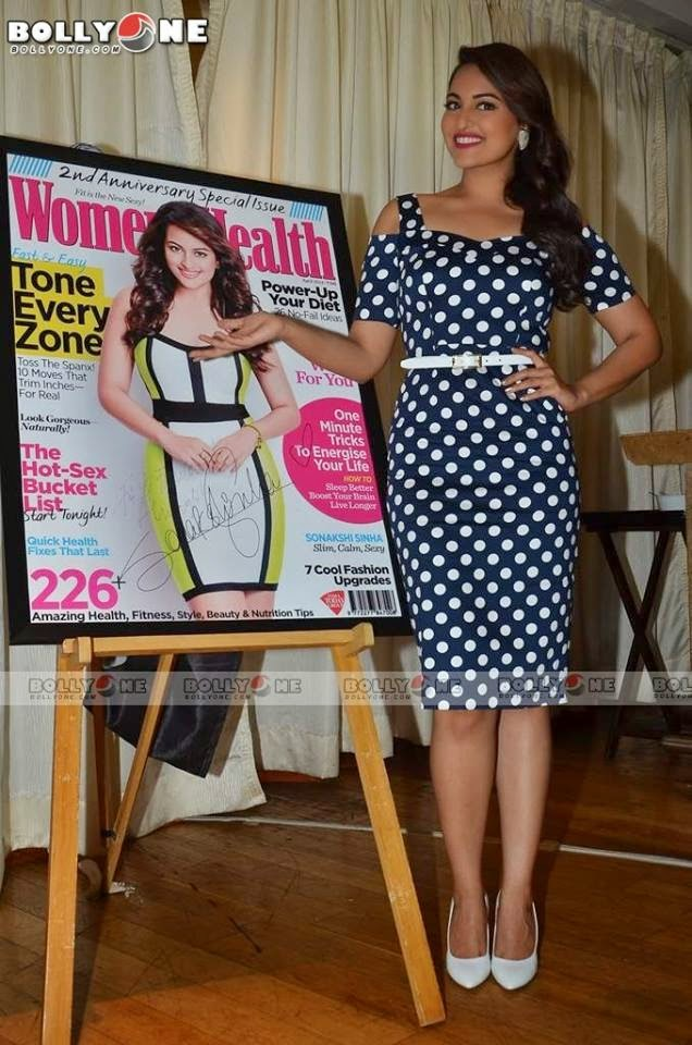 Sonakshi Sinha looks stunning in an Asos dress.