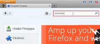 Membuka Situs Yang Di Blokir Pada Mozilla