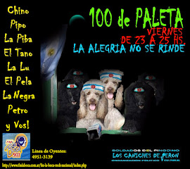 """100 DE PALETA"" VIERNES DE 23 A 25 HS."