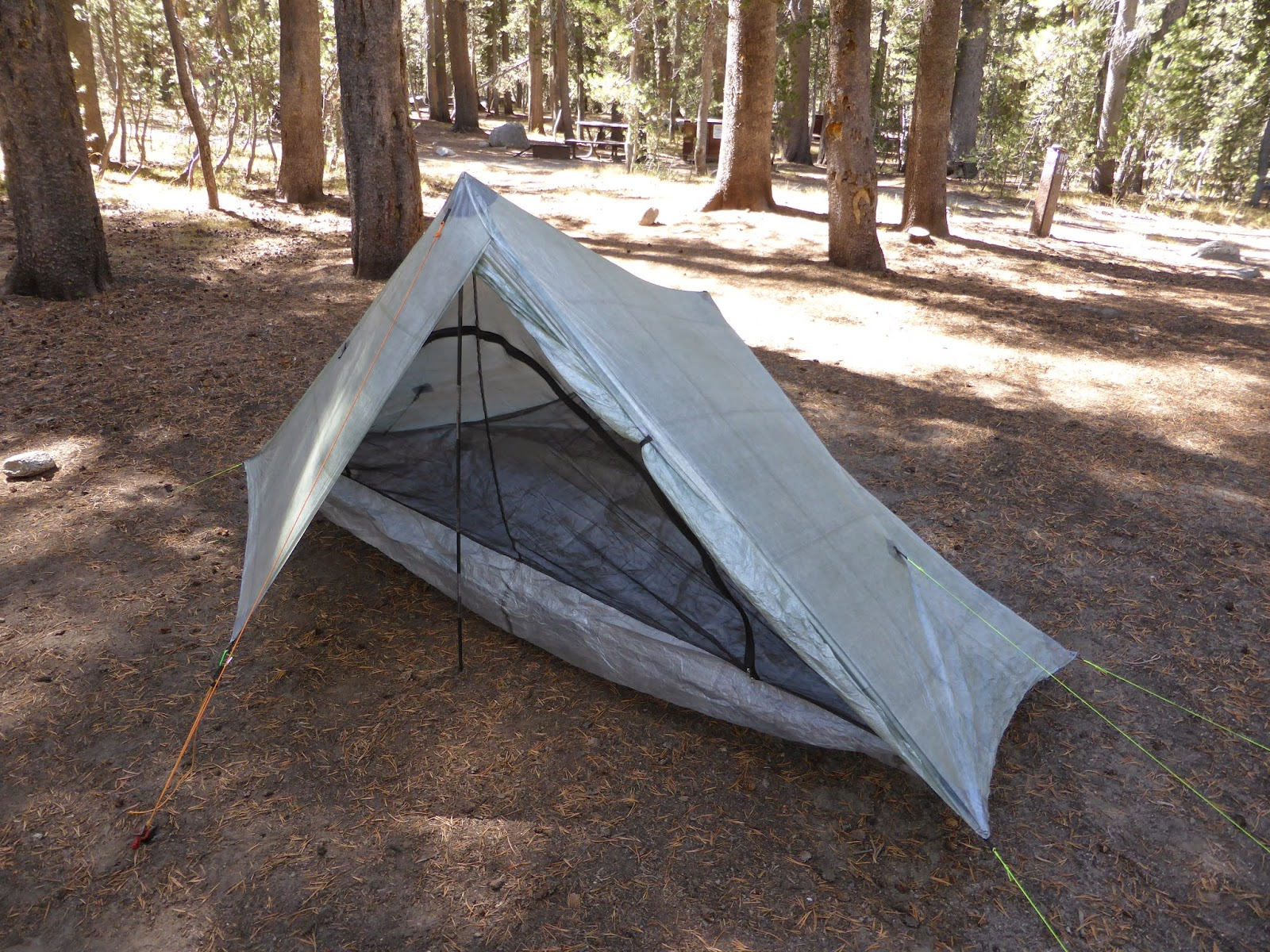 The shelter is quick and easy to erect. I bought carbon poles from zPacks rather than use my trekking poles this was partly due to knowing that I had no ... & I Donu0027t Do Hills: Quick review - zPacks Solplex