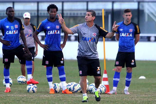 Jorginho trouxe novo ânimo ao Vasco (Foto: Paulo Fernandes/Vasco)