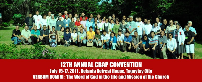 Verbum Domini: CBAP 12th Annual Convention