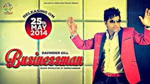Businessman Song Lyrics - Davinder Gill