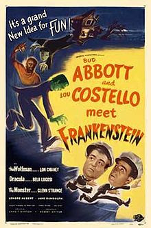 1021 free dearborn main library blockbusters film series october 21st abbott and costello meet frankenstein 1948