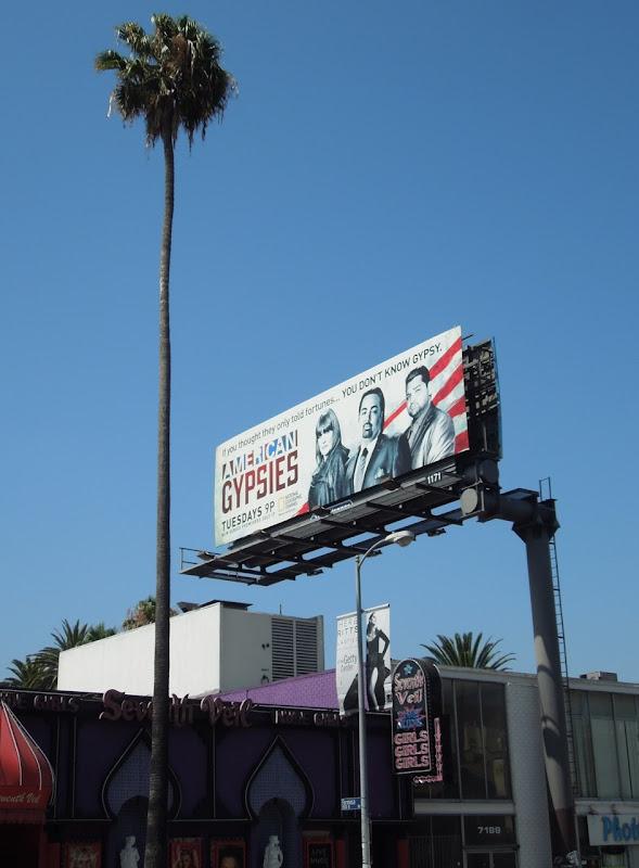 American Gypsies season 1 billboard