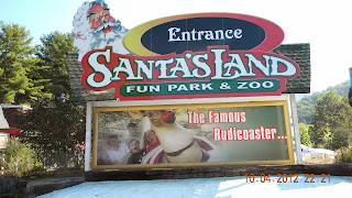 Santa's Land Fun Park & Zoo in Cherokee, NC