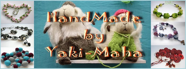 HandMade by Yaki-Maha. Украшения из камней, вязаные украшения и игрушки.