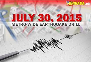 Manila quake drill 2015