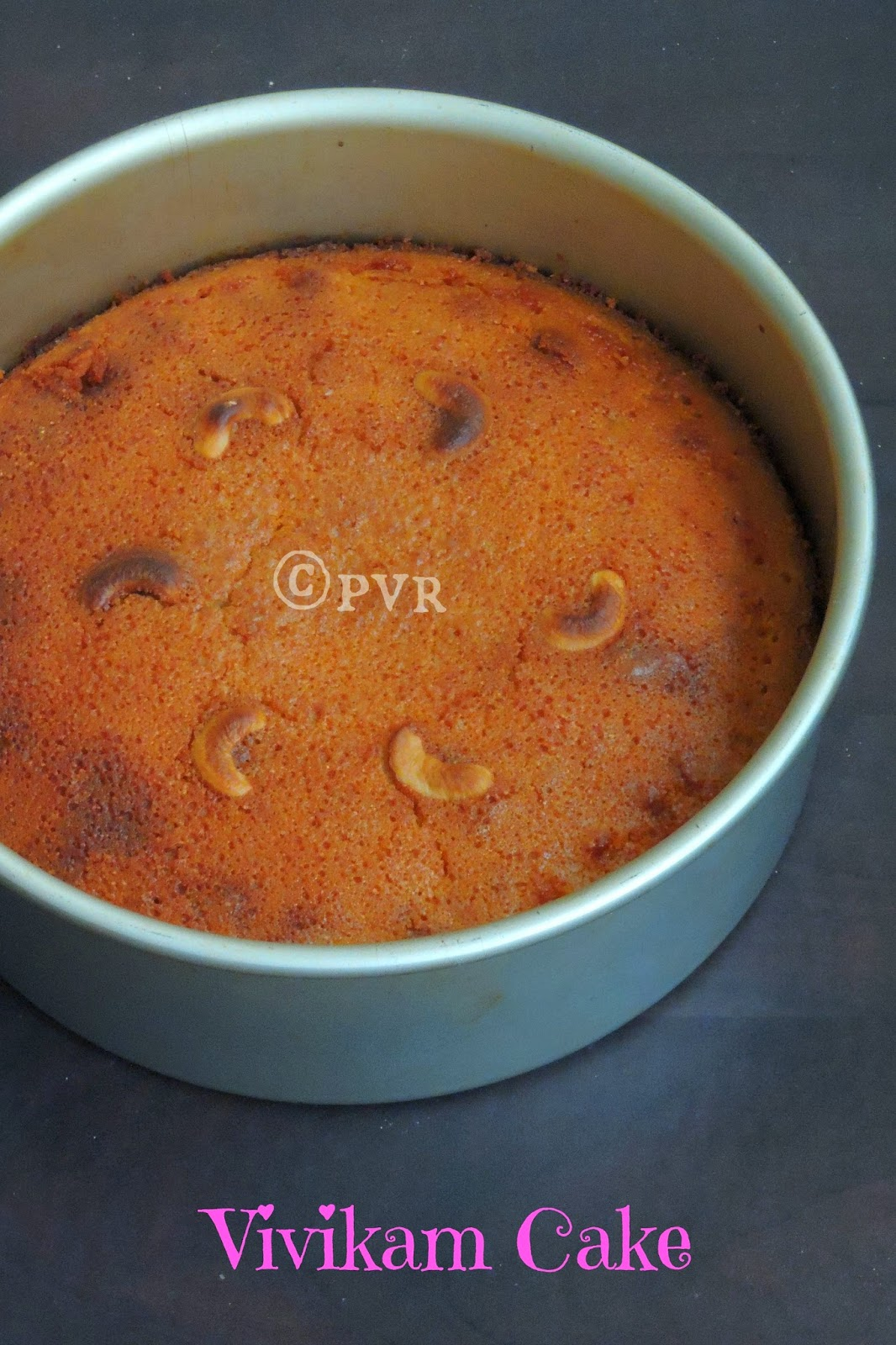 Vivikam cake, Puducherry cake