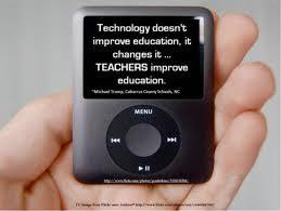 Teachers improve education.