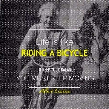 Einstein Best Life Quote