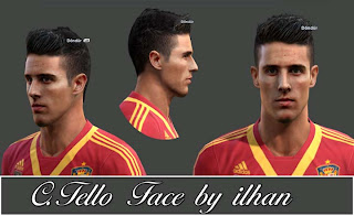 C.Tello & Isco Face by Ilhan